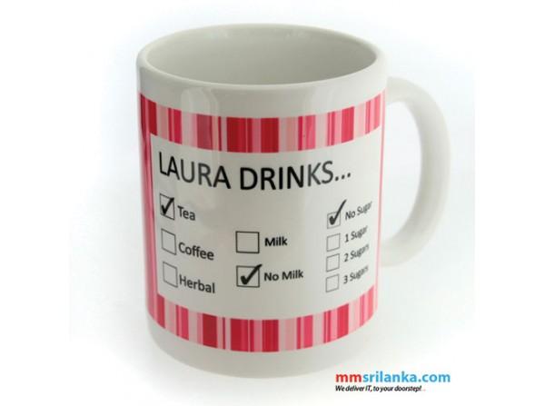 How He/She Likes it Mug