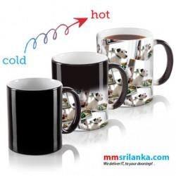 Print Your Image on Black Magic Mug