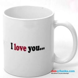 'I Love You More than My Morning Tea' Mug