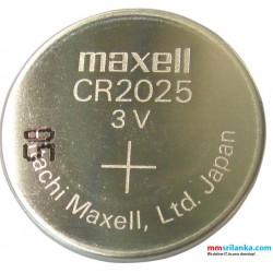 Maxell CR2025 3V Battery Single