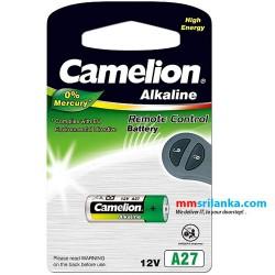 Camelion Alkaline 27A Battery 12V for Remote Control