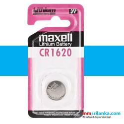 Maxell CR1620 Lithium Battery 3V