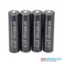 Panasonic Eneloop Pro AA 2550mAh Rechargeable Batteries - 4 Pack