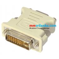 DVI male 24+1 to VGA Female adapter