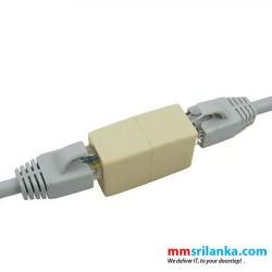 Network Ethernet Lan Cable Extender Modular Plug 8P8C RJ45 CAT5 CAT5E CAT6 Connector Cable Joiner Extension Converter Coupler