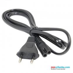 AC plug Power cable 1.5m 2 pin