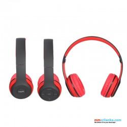 Havit H2575BT Black-Red Bluetooth Headphone with Built-in FM Radio