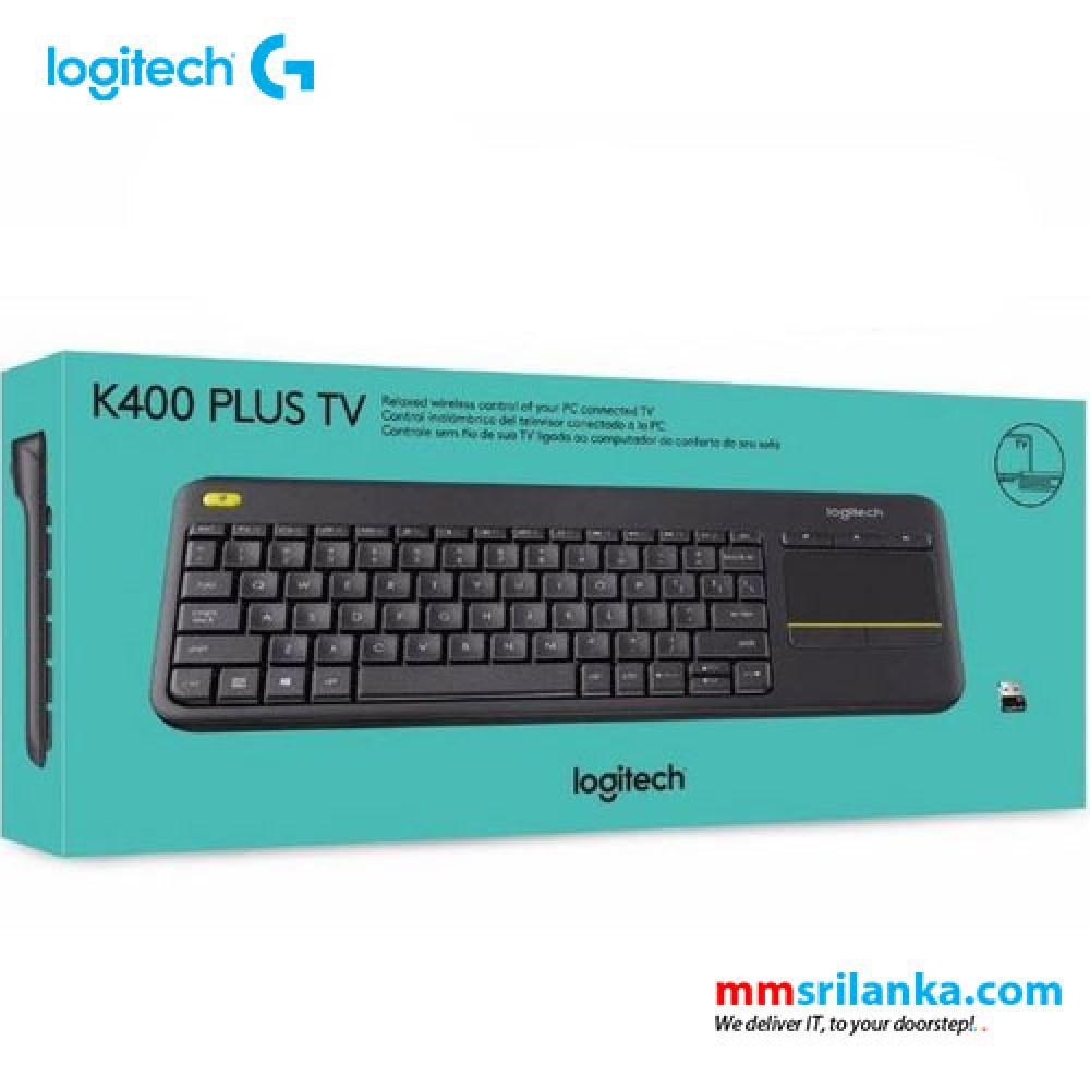 Logitech Wireless Touch Keyboard K400 Plus Pc To Tv Control