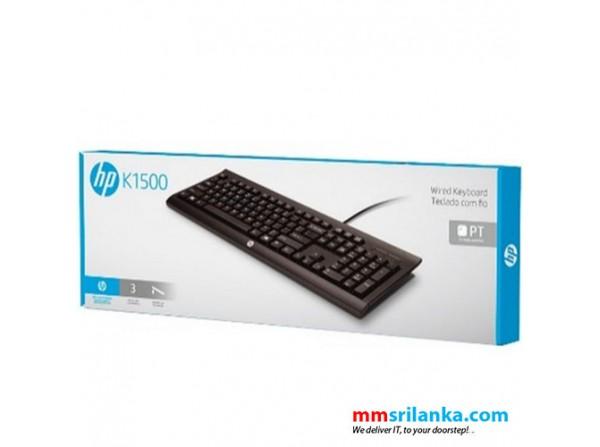 Hp K1500 Wired Usb Keyboard
