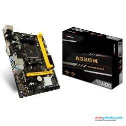 Biostar A320MH Desktop Motherboard for AMD RYZEN/ ATHLON Processors