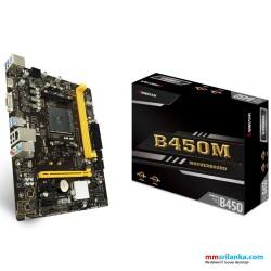 Biostar B450MH Desktop Motherboard  AMD, DDR4