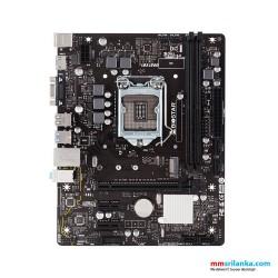 Biostar H410MH Desktop Motherboard, DDR 4