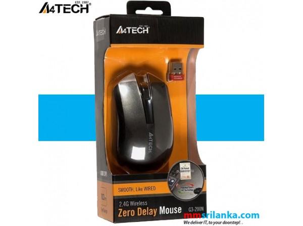 A4tech Wireless Mouse G3 200n
