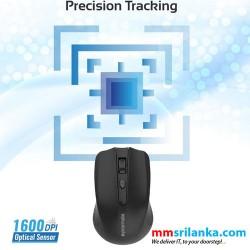 Promate Clix-8 Wireless Ergonomic Optical Mouse