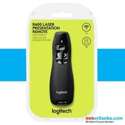 Logitech Wireless Presenter R400 Red Laser Pointer