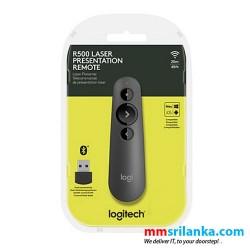 Logitech R500 Wireless Laser Presentation Remote with Red Laser Pointer