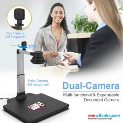 Viisan Scanner VS5305D Book Scanner, Multi-functional & Expandable Document Camera