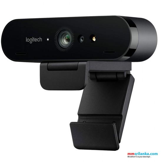 Logitech BRIO Webcam with 4K Ultra HD video & Windows Hello support