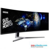 "Samsung 49"" Curved QLED Gaming Monitor"