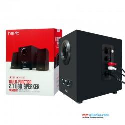 Havit Multi-Function 2.1 USB Bluetooth Speaker with USB and SD Port