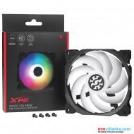 XPG Vento 120mm RGB High Performance Rifle Bearing Low Noise Long-Life PC Case Cooling Fan, Single