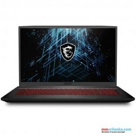 MSI Gaming Laptop GF75 Thin 10UE - I7 10G 16GB RTX3060 512GB SSD