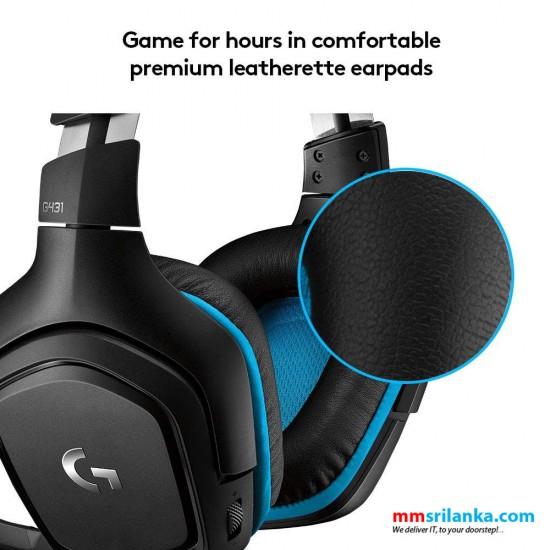 Logitech G431 7.1 Surround Sound Gaming Headset