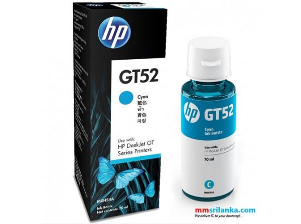 HP GT52 Ink Bottle (Cyan)