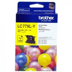 Brother LC 77XL Yellow Cartridge