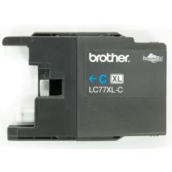 Brother LC 77XL Cyan Cartridge