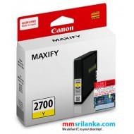 Canon MAXIFY 2700 Yellow Cartridge