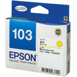 Epson 103 Yellow Cartridge for Epson T1100