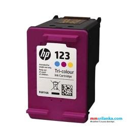 HP 123 Tri Color Original Ink Cartridge