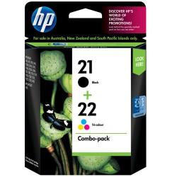 HP 21+22 Black & Color Cartridge Combo Pack