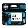 HP 63 Black Cartridge for HP 1110/ 1112/ 3830/ 2130/ 2132/ 4650