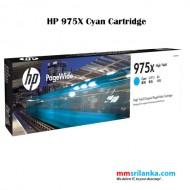 HP 975X High Capacity Cyan PageWide Cartridge for HP Pro-X477dn MFP Printer