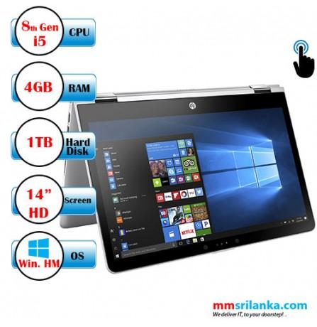 HP Pavillion X360 14-CD0074TU (8th Gen Core i5) Windows 10