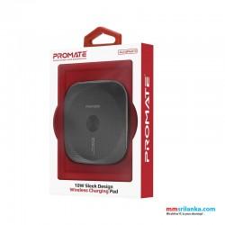 Promate 10W Sleek Design Wireless Charging Pad