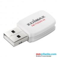 Edimax 300Mbps Wireless Mini USB Adapter - EW-7722UTn V2