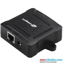 Edimax IEEE 802.3at Gigabit PoE+ Splitter with Adjustable 5V DC, 9V DC, 12V DC Output -GP-101ST