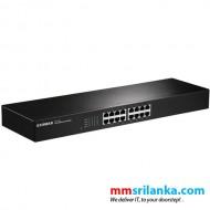 Edimax 16-Port Fast Ethernet Rack-mount Switch ES-1016