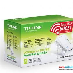 TP-Link 300Mbps AV500 Wi-Fi Powerline Extender- TL-WPA4220