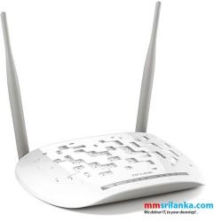 TP-Link 300Mbps Wireless N ADSL2+ Modem Router- TD-W8961N