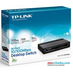 TP-Link 16-Port 10/100Mbps Desktop Switch- TL-SF1016D