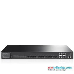 JetStream 12-Port Gigabit SFP L2 Managed Switch with 4 Combo 1000BASE-T Ports