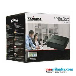 Edimax 5-Port Fast Ethernet Desktop Switch - ES-3305P