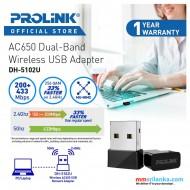 PROLiNK DH-5102U AC650 Wireless USB Adapter