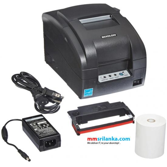 Bixolon SRP-275 111 Dot Matrix 3 inch Receipt Printer (USB/ SERIAL/ ETHERNET)
