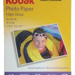 Kodak Photo Paper High Gloss - A3 - 180gm 20 sheets pack
