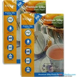 FANTAC 4R Premium Silky 260g 100 sheets Photo Paper Pack